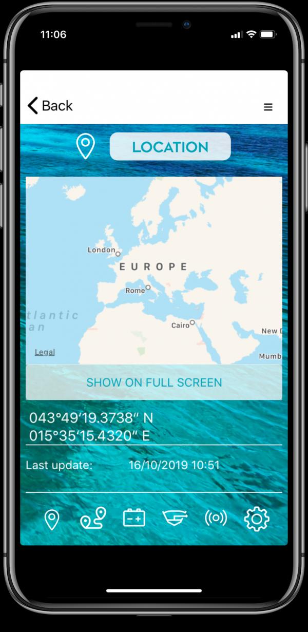 connect-it-boat SmartPhone App Einstellungen