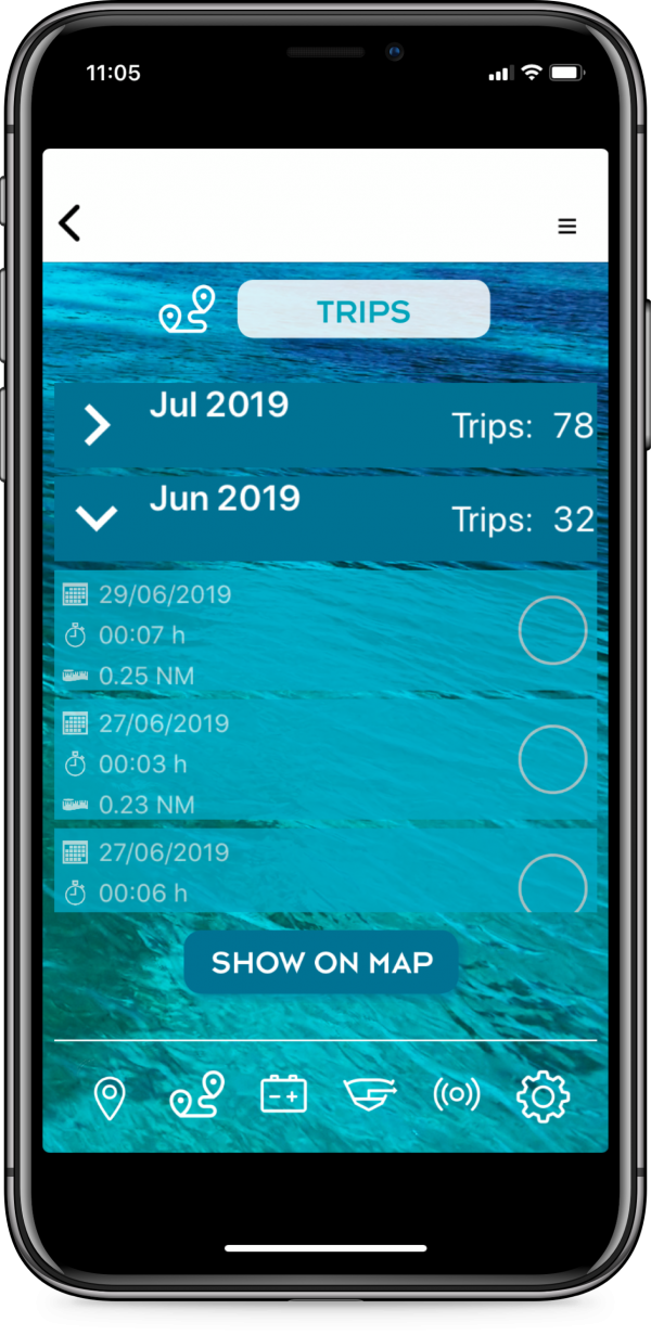 connect-it-boat SmartPhone App Touren und Trips